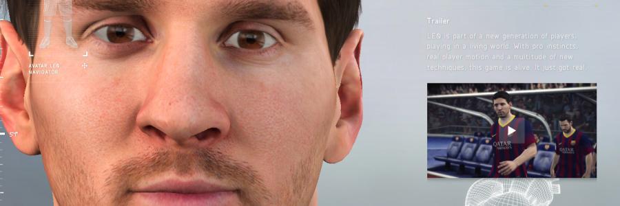 Life Size Lionel Messi Avatar